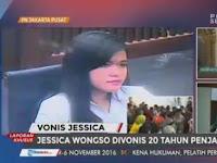 Kasus Pembunuhan Berencana, Jessica Divonis 20 Tahun