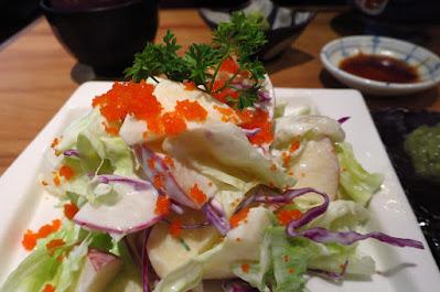 Tampopo, apple yoghurt salad