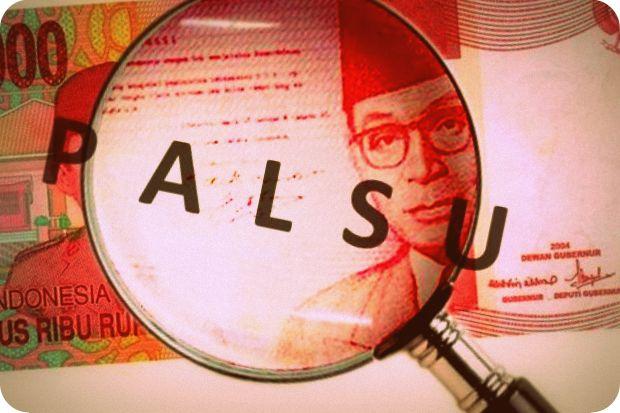 Bank Indonesia Temukan 57 Lembar Uang Palsu