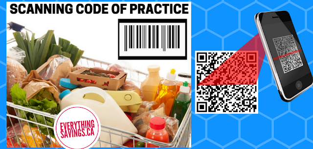 Save Money By Using  the Scanning code of Practice