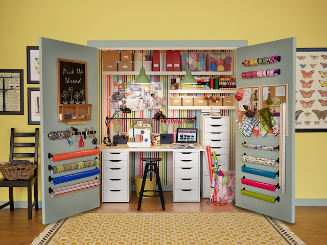 perfect sewing room design ideas