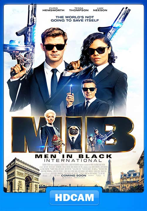 Men in Black International 2019 720p HDCAM x264 | 480p 300MB | 100MB HEVC Poster