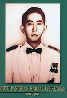 gambar-foto pahlawan nasional indonesia, GPH Djati Kusumo
