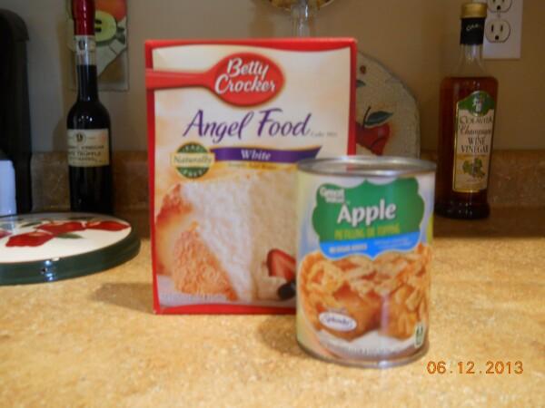 Tweaked At Chez Jan Apple Angel Cake