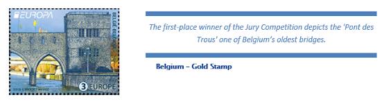 Belgian postin postimerkki
