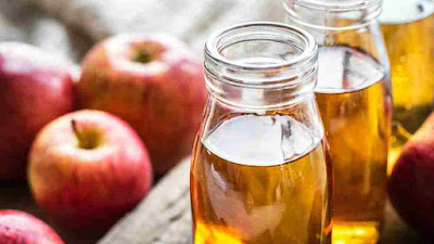 علاج التآليل بخل التفاح