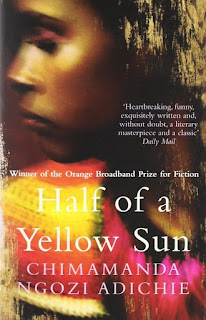 HALF OF A YELLOW SUN - BOOK COVER