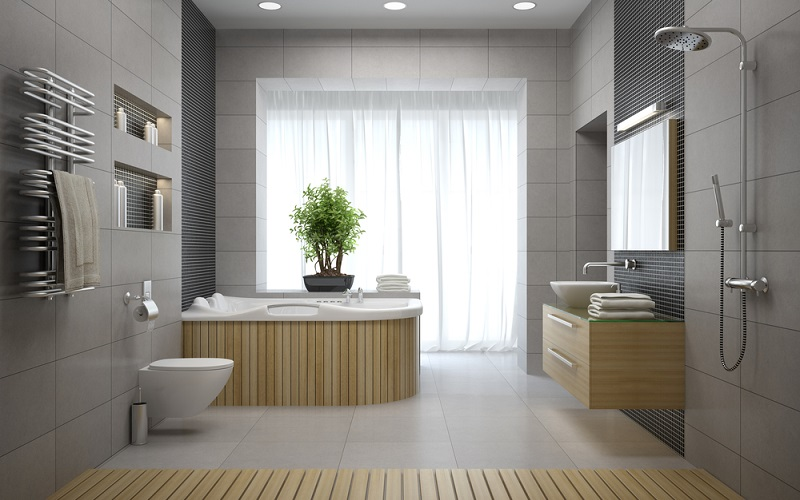 Refreshing Houses with Beautiful Bathroom Ideas