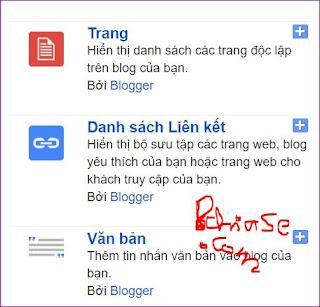 Hướng dẫn cơ bản - Thêm link vào menu nhanh cho blogspot