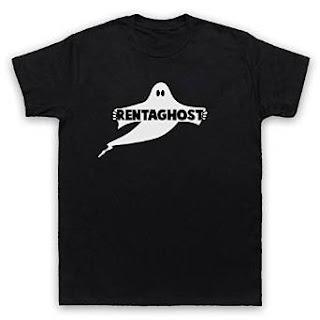 RETRO RENTAGHOST T-SHIRTS