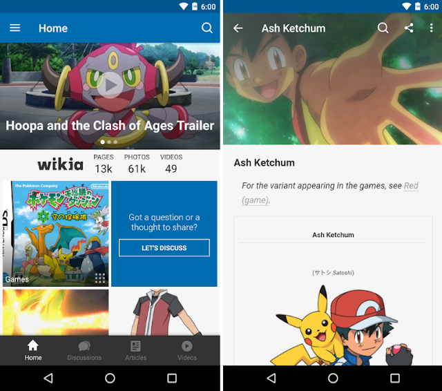 Wikia Pokemon App