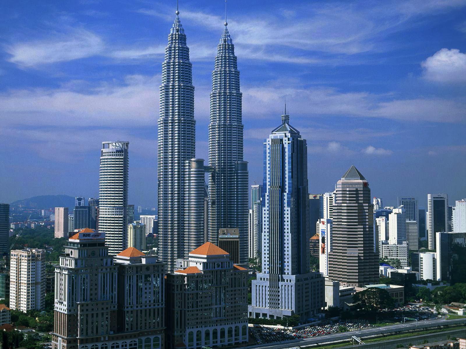 Kuala Lumpur Beautiful Hd Wallpapers: Petronas Twin Towers Desktop Wallpapers View