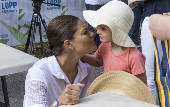 "Prince Daniel attended the inaugural ""Prince Daniel's Race and Sports Day"" at Haga Park. Crown Princess Victoria and Princess Estelle"