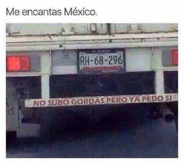 Me encantas México