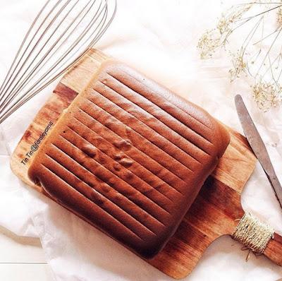 Resep Mocca Ogura Cake