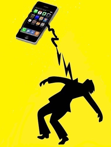 man electrocuted by phone