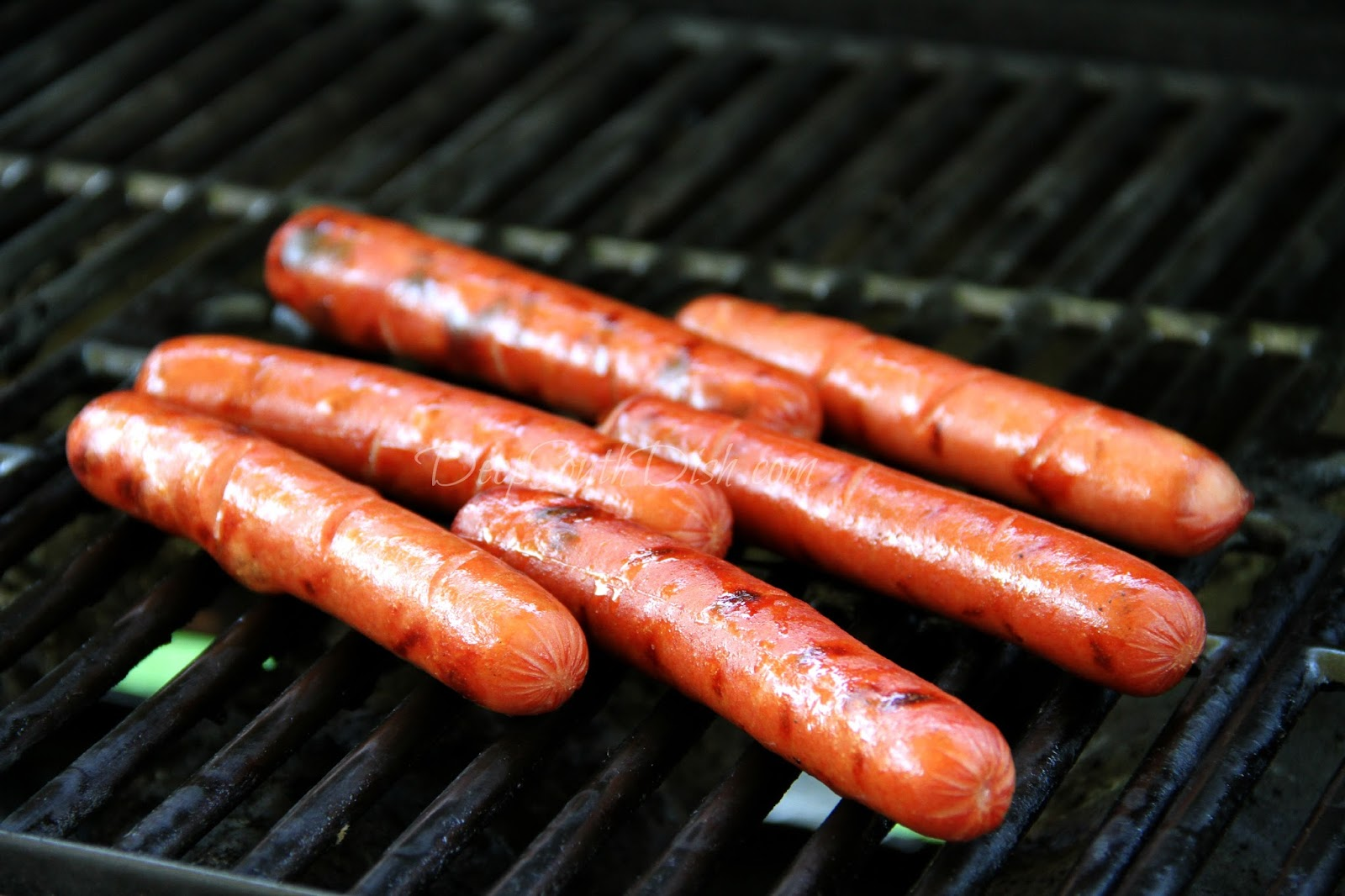 Grilled Hot Dog Buns