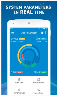 JUST CLEANER APK FOR ANDROID