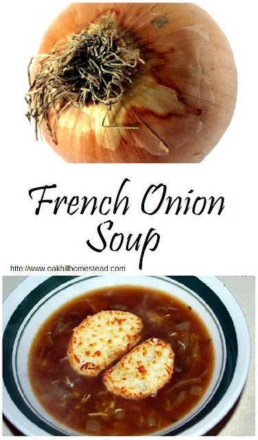 French onion soup is so easy to make at home, and is frugal and delicious!