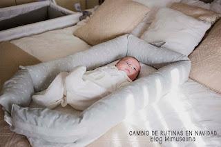 rutinas sueño bebé navidad cuco portátil mini cuna blog mimuselina cuconest