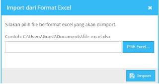 Cara Export dan Import Nilai Rapor Menggunakan Excel pada Dapodik versi 2017c