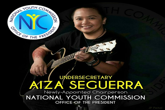 Aiza Seguerra appointed National Youth Commission Chairperson