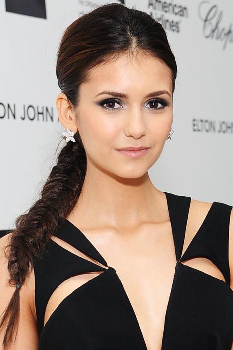 Nina Dobrev Hairstyles