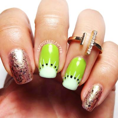 Kute Kiwi Nails