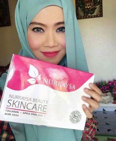 nurraysa beauty skincare halal