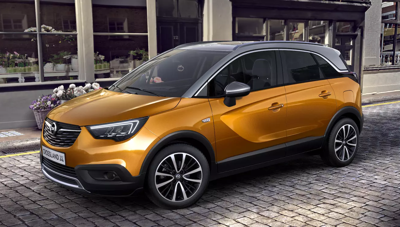 opel crossland x 2019 couleurs colors. Black Bedroom Furniture Sets. Home Design Ideas