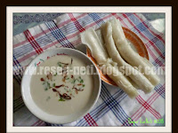 Resep Burgo ( Rice Flour Steamed Rolls With Savory Sauce Recipe )