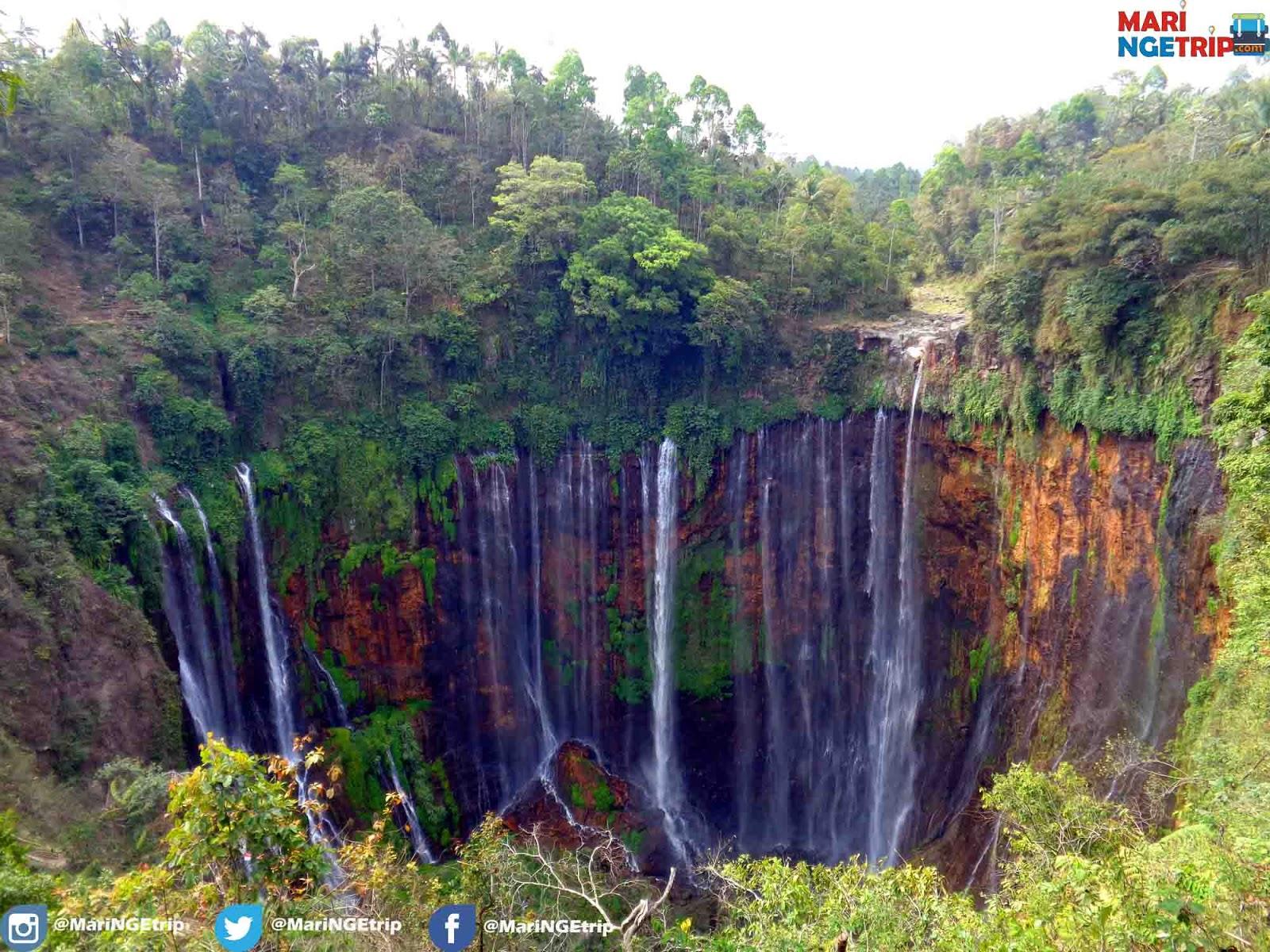 Air Terjun Tumpak Sewu Niagara Nya Indonesi Di Lumajang