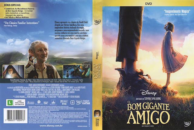 Capa DVD O Bom Gigante Amigo