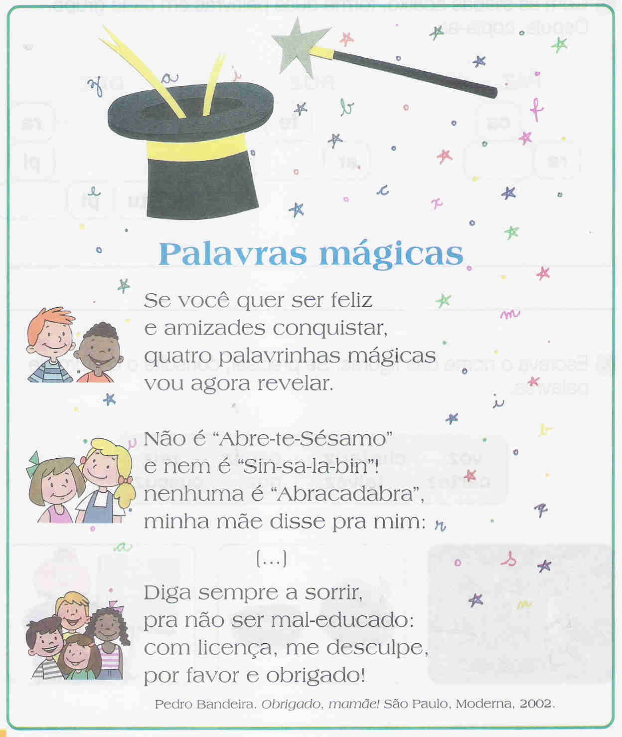 Segundo Ciclo Mestre Ataíde Palavras Mágicas