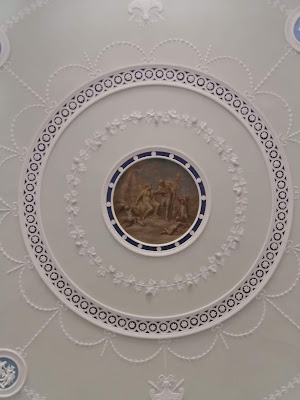 Entrance hall ceiling, Kenwood (2019)