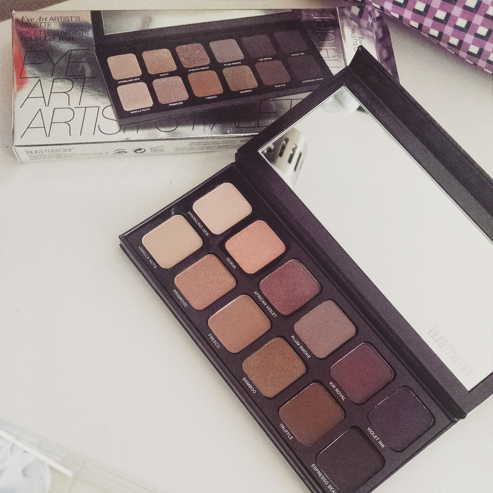 Laura mercier eye art artist's palette for eyes seohora review