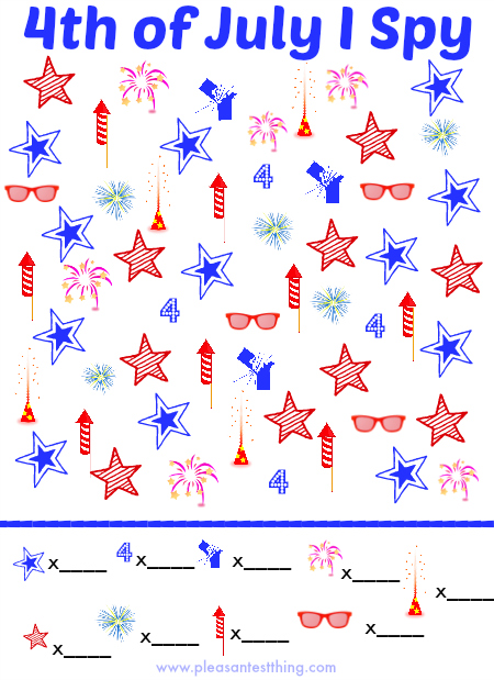Fourth Of July Worksheets : Activities for th of july totschooling toddler