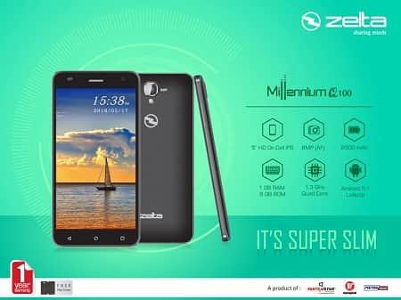 Zelta Millennium Q100 Smartphone