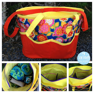 two pretty poppets Summer Lovin Beach Tote