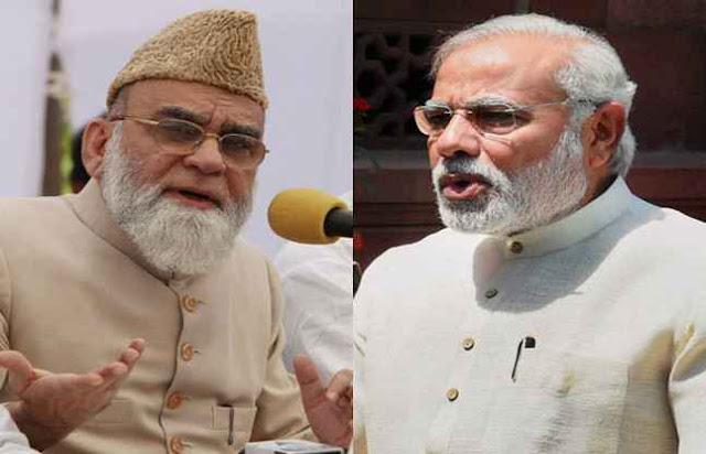 दिल्ली जामा मस्ज्दि के शाही इमाम ने पीएम मोदी से मुलाकात की