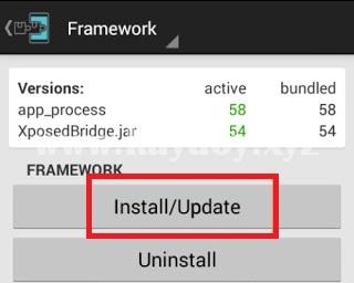 Cara Instal Xposed Framework Installer di Android 4.0 - 4.4
