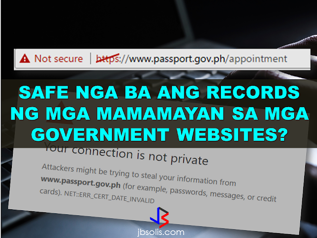 "In the light of the ransomware attack just recently and other phishing attacks on different websites, a big question was raised as to the safety of public informations provided in an unsecured government website such as that of the DFA Passport appointment system.  As of this writing, the government site www.passport.gov.ph which ask for the private informations of the citizens who apply for passport appointment might be vulnerable to attacks.    As for the said government website under the Department of Foreign Affairs (DFA), passport.gov.ph is visited mostly by Filipinos for information on passport requirements, appointments, and application, providing their private personal informations on the site.        On any given website, security is vital especially when it is a website owned by the government. hackers are so innovative and resourceful these days that they  even penetrated a huge website just recently.   If you try to access www.passport.gov.ph, it will direct you to a page that says your connection is not private, however, clicking ""advanced"" on thae page reveals that the security of the site has expired explaining the unsecure prompt.  If not addressed accordingly, the data of millions that visits this site everyday might be at risk of identity theft and maybe much worse.  {INSERT ALL PARAGRAPHS HERE A massive attack on Google hit millions of Gmail users after receiving an email which instructs the user to click on a document. After that, a very google-like page that will ask for your password and that's where you get infected. Experts warned that if ever you received an email which asks you to click a document, please! DO NOT CLICK IT!  This ""worm"" which arrived in the inboxes of Gmail users in the form of an email from a trusted contact asking users to click on an attached ""Google Docs,"" or GDocs, file. Clicking on the link took them to a real Google security page, where users were asked to give permission for the fake app, posing as GDocs, to have an access to the users' email account.  For added menace, this worm also sent itself out to all of the contacts of the affected user Gmail or and others spawning itself hundreds of times any time a single user was hooked on its snare.  Follow Google Docs  ✔@googledocs We are investigating a phishing email that appears as Google Docs. We encourage you to not click through & report as phishing within Gmail. 4:08 AM - 4 May 2017       4,6234,623 Retweets     2,5192,519 likes It is a common strategy but what puzzled millions of affected users was the sophisticated construction of the malicious link which was so realistic; from the email sender to the link that remarkably looks real. Worms or phishing attacks generally access your personal information like passwords of your bank accounts, social media accounts, and others.  This gmail/docs hack is clever. It's abusing oauth to gain access to accounts. 4:51 AM - 4 May 2017       Retweets     11 like    Follow St George Police @sgcitypubsafety Do you Goole? Or use GMAIL? Watch out for this scam & spread the word (not the virus!) https://www.reddit.com/r/google/comments/692cr4/new_google_docs_phishing_scam_almost_undetectable/ … 4:50 AM - 4 May 2017  Photo published for New Google Docs phishing scam, almost undetectable • r/google New Google Docs phishing scam, almost undetectable • r/google I received a phishing email today, and very nearly fell for it. I'll go through the steps here: 1. I [received an... reddit.com       22 Retweets     44 likes   View image on Twitter View image on Twitter   Follow CortlandtDailyVoice @CortlandtDV Westchester School Officials Warn Of Gmail Email 'Situation' http://dlvr.it/P3KdGC  4:50 AM - 4 May 2017       11 Retweet     11 like    Follow Shane Gustafson  ✔@Shane_WMBD SCAM ALERT: Gmail accounts across the country have been hacked, several agencies are asking you to be aware. http://www.centralillinoisproud.com/news/local-news/gmail-hack-hits-central-illinois/705935084 … 4:48 AM - 4 May 2017  Photo published for Gmail Hack Hits Central Illinois Gmail Hack Hits Central Illinois An attack against Gmail accounts across the country also targets several agencies in central Illinois. centralillinoisproud.com       66 Retweets     33 likes    Follow Lance @lancewmccarthy Man, gmail's getting hammered today with spam and phishing attacks. 4:49 AM - 4 May 2017       11 Retweet     11 like Within an hour,  a red warning began appearing with the malicious email that says it could be a phishing attack.   View image on Twitter View image on Twitter   Follow Jen Lee Reeves @jenleereeves Be careful, Twitter people with Gmail accounts! Do not click on the ""doc share"" box. It's a solid attempt at phishing. 4:14 AM - 4 May 2017       44 Retweets     77 likes    However, Google said that they had ""disabled"" the malicious accounts and pushed updates to all users. They also said that it only affected ""fewer than 0.1 percent of Gmail users"" still be about 1 million of the service's roughly 1 billion users around the world.  What do you have to do if you experienced similar phishing attacks?        Source: NBC Recommended:  Do You Need Money For Tuition Fee For The Next School Year? You Need To Watch This Do you need money for your tuition fee to be able to study this coming school year? The Philippine government might be able to help you. All you need to do is to follow these steps:  -Inquire at the state college or university where you want to study.  -Bring Identification forms. If your family is a 4Ps subsidiary, prepare and bring your 4Ps identification card. For families who are not a member of 4Ps, bring your family's proof of income.  -Bring the registration form from your state college or university where you want to study.   Nicholas Tenazas, Deputy executive Director of CHED-UniFAST said that in the program, the state colleges and universities will not collect any tuition fee from the students. The Government will shoulder their tuition fees.  CHED-UniFAST or the Unified Student Financial Assistance For Tertiary Education otherwise known as the Republic Act 10687  which aims to provide quality education to the Filipinos.  What are the qualifications for availing of the modalities of UniFAST?  The applicant for any of the modalities under the UniFAST must meet the following minimum qualifications:  (a) must be a Filipino citizen, but the Board may grant exemptions to foreign students based on reciprocal programs that provide similar benefits to Filipino students, such as student exchange programs, international reciprocal Scholarships, and other mutually beneficial programs;   (b) must be a high school graduate or its equivalent from duly authorized institutions;   (c) must possess good moral character with no criminal record, but this requirement shall be waived for programs which target children in conflict with the law and those who are undergoing or have undergone rehabilitation;   (d) must be admitted to the higher education institution (HEI) or TVI included in the Registry of Programs and Institutions of the applicant's choice, provided that the applicant shall be allowed to begin processing the application within a reasonable time frame set by the Board to give the applicant sufficient time to enroll;   (e) in the case of technical-vocational education and training or TVET programs, must have passed the TESDA screening/assessment procedure, trade test, or skills competency evaluation; and   (f) in the case of scholarship, the applicant must obtain at least the score required by the Board for the Qualifying Examination System for Scoring Students and must possess such other qualifications as may be prescribed by the Board.  The applicant has to declare also if he or she is already a beneficiary of any other student financial assistance, including government StuFAP. However, if at the time of application of the scholarship, grant-in-aid, student loan, or other modalities of StuFAP under this Act, the amount of such other existing grant does not cover the full cost of tertiary education at the HEI or TVI where the applicant has enrolled in, the applicant may still avail of the StuFAPs under this Act for the remaining portion. Recommended:  Starting this August, the Land Transportation Office (LTO) will possibly release the driver's license with validity of 5 years as President Duterte earlier promised.  LTO Chief Ed Galvante said, LTO started the renewal of driver's license with a validity of 5 years since last year but due to the delay of the supply of the plastic cards, they are only able to issue receipts. The LTO is optimistic that the plastic cards will be available on the said month.  Meanwhile, the LTO Chief has uttered support to the program of the Land Transportation Franchising and Regulatory Board (LTFRB) which is the establishment of the Driver's Academy which will begin this month  Public Utility Drivers will be required to attend the one to two days classes. At the academy, they will learn the traffic rules and regulations, LTFRB policies, and they will also be taught on how to avoid road rage. Grab and Uber drivers will also be required to undergo the same training.  LTFRB board member Aileen Lizada said that they will conduct an exam after the training and if the drivers passed, they will be given an ID Card.  The list of the passers will be then listed to their database. The operators will be able to check the status of the drivers they are hiring. Recommended:    Transfer to other employer   An employer can grant a written permission to his employees to work with another employer for a period of six months, renewable for a similar period.  Part time jobs are now allowed   Employees can take up part time job with another employer, with a written approval from his original employer, the Ministry of Interior said yesterday.   Staying out of Country, still can come back?  Expatriates staying out of the country for more than six months can re-enter the country with a ""return visa"", within a year, if they hold a Qatari residency permit (RP) and after paying the fine.    Newborn RP possible A newborn baby can get residency permit within 90 days from the date of birth or the date of entering the country, if the parents hold a valid Qatari RP.  No medical check up Anyone who enters the country on a visit visa or for other purposes are not required to undergo the mandatory medical check-up if they stay for a period not more than 30 days. Foreigners are not allowed to stay in the country after expiry of their visa if not renewed.   E gates for all  Expatriates living in Qatar can leave and enter the country using their Qatari IDs through the e-gates.  Exit Permit Grievances Committee According to Law No 21 of 2015 regulating entry, exit and residency of expatriates, which was enforced on December 13, last year, expatriate worker can leave the country immediately after his employer inform the competent authorities about his consent for exit. In case the employer objected, the employee can lodge a complaint with the Exit Permit Grievances Committee which will take a decision within three working days.  Change job before or after contract , complete freedom  Expatriate worker can change his job before the end of his work contract with or without the consent of his employer, if the contract period ended or after five years if the contract is open ended. With approval from the competent authority, the worker also can change his job if the employer died or the company vanished for any reason.   Three months for RP process  The employer must process the RP of his employees within 90 days from the date of his entry to the country.  Expat must leave within 90 days of visa expiry The employer must return the travel document (passport) to the employee after finishing the RP formalities unless the employee makes a written request to keep it with the employer. The employer must report to the authorities concerned within 24 hours if the worker left his job, refused to leave the country after cancellation of his RP, passed three months since its expiry or his visit visa ended.  If the visa or residency permit becomes invalid the expat needs to leave the country within 90 days from the date of its expiry. The expat must not violate terms and the purpose for which he/she has been granted the residency permit and should not work with another employer without permission of his original employer. In case of a dispute the Interior Minister or his representative has the right to allow an expatriate worker to work with another employer temporarily with approval from the Ministry of Administrative Development,Labour and Social Affairs. Source:qatarday.com Recommended:      The Barangay Micro Business Enterprise Program (BMBE) or Republic Act No. 9178 of the Department of Trade and Industry (DTI) started way back 2002 which aims to help people to start their small business by providing them incentives and other benefits.  If you have a small business that belongs to manufacturing, production, processing, trading and services with assets not exceeding P3 million you can benefit from BMBE Program of the government.  Benefits include:  Income tax exemption from income arising from the operations of the enterprise;   Exemption from the coverage of the Minimum Wage Law (BMBE 1) 2) 3) 2 employees will still receive the same social security and health care benefits as other employees);   Priority to a special credit window set up specifically for the financing requirements of BMBEs; and  Technology transfer, production and management training, and marketing assistance programs for BMBE beneficiaries.  Gina Lopez Confirmation as DENR Secretary Rejected; Who Voted For Her and Who Voted Against?   ©2017 THOUGHTSKOTO www.jbsolis.com SEARCH JBSOLIS   The Barangay Micro Business Enterprise Program (BMBE) or Republic Act No. 9178 of the Department of Trade and Industry (DTI) started way back 2002 which aims to help people to start their small business by providing them incentives and other benefits.  If you have a small business that belongs to manufacturing, production, processing, trading and services with assets not exceeding P3 million you can benefit from BMBE Program of the government.   Benefits include: Income tax exemption from income arising from the operations of the enterprise;   Exemption from the coverage of the Minimum Wage Law (BMBE 1) 2) 3) 2 employees will still receive the same social security and health care benefits as other employees);   Priority to a special credit window set up specifically for the financing requirements of BMBEs; and  Technology transfer, production and management training, and marketing assistance programs for BMBE beneficiaries.  Gina Lopez Confirmation as DENR Secretary Rejected; Who Voted For Her and Who Voted Against? Transfer to other employer   An employer can grant a written permission to his employees to work with another employer for a period of six months, renewable for a similar period.  Part time jobs are now allowed   Employees can take up part time job with another employer, with a written approval from his original employer, the Ministry of Interior said yesterday.   Staying out of Country, still can come back?  Expatriates staying out of the country for more than six months can re-enter the country with a ""return visa"", within a year, if they hold a Qatari residency permit (RP) and after paying the fine.    Newborn RP possible A newborn baby can get residency permit within 90 days from the date of birth or the date of entering the country, if the parents hold a valid Qatari RP.  No medical check up Anyone who enters the country on a visit visa or for other purposes are not required to undergo the mandatory medical check-up if they stay for a period not more than 30 days. Foreigners are not allowed to stay in the country after expiry of their visa if not renewed.   E gates for all  Expatriates living in Qatar can leave and enter the country using their Qatari IDs through the e-gates.  Exit Permit Grievances Committee According to Law No 21 of 2015 regulating entry, exit and residency of expatriates, which was enforced on December 13, last year, expatriate worker can leave the country immediately after his employer inform the competent authorities about his consent for exit. In case the employer objected, the employee can lodge a complaint with the Exit Permit Grievances Committee which will take a decision within three working days.  Change job before or after contract , complete freedom  Expatriate worker can change his job before the end of his work contract with or without the consent of his employer, if the contract period ended or after five years if the contract is open ended. With approval from the competent authority, the worker also can change his job if the employer died or the company vanished for any reason.   Three months for RP process  The employer must process the RP of his employees within 90 days from the date of his entry to the country.  Expat must leave within 90 days of visa expiry The employer must return the travel document (passport) to the employee after finishing the RP formalities unless the employee makes a written request to keep it with the employer. The employer must report to the authorities concerned within 24 hours if the worker left his job, refused to leave the country after cancellation of his RP, passed three months since its expiry or his visit visa ended.  If the visa or residency permit becomes invalid the expat needs to leave the country within 90 days from the date of its expiry. The expat must not violate terms and the purpose for which he/she has been granted the residency permit and should not work with another employer without permission of his original employer. In case of a dispute the Interior Minister or his representative has the right to allow an expatriate worker to work with another employer temporarily with approval from the Ministry of Administrative Development,Labour and Social Affairs. Source:qatarday.com Recommended:      The Barangay Micro Business Enterprise Program (BMBE) or Republic Act No. 9178 of the Department of Trade and Industry (DTI) started way back 2002 which aims to help people to start their small business by providing them incentives and other benefits.  If you have a small business that belongs to manufacturing, production, processing, trading and services with assets not exceeding P3 million you can benefit from BMBE Program of the government.  Benefits include:  Income tax exemption from income arising from the operations of the enterprise;   Exemption from the coverage of the Minimum Wage Law (BMBE 1) 2) 3) 2 employees will still receive the same social security and health care benefits as other employees);   Priority to a special credit window set up specifically for the financing requirements of BMBEs; and  Technology transfer, production and management training, and marketing assistance programs for BMBE beneficiaries.  Gina Lopez Confirmation as DENR Secretary Rejected; Who Voted For Her and Who Voted Against?   ©2017 THOUGHTSKOTO www.jbsolis.com SEARCH JBSOLIS  ©2017 THOUGHTSKOTO www.jbsolis.com SEARCH JBSOLIS Starting this August, the Land Transportation Office (LTO) will possibly release the driver's license with validity of 5 years as President Duterte earlier promised.  LTO Chief Ed Galvante said, LTO started the renewal of driver's license with a validity of 5 years since last year but due to the delay of the supply of the plastic cards, they are only able to issue receipts. The LTO is optimistic that the plastic cards will be available on the said month.     Transfer to other employer   An employer can grant a written permission to his employees to work with another employer for a period of six months, renewable for a similar period.  Part time jobs are now allowed   Employees can take up part time job with another employer, with a written approval from his original employer, the Ministry of Interior said yesterday.   Staying out of Country, still can come back?  Expatriates staying out of the country for more than six months can re-enter the country with a ""return visa"", within a year, if they hold a Qatari residency permit (RP) and after paying the fine.    Newborn RP possible A newborn baby can get residency permit within 90 days from the date of birth or the date of entering the country, if the parents hold a valid Qatari RP.  No medical check up Anyone who enters the country on a visit visa or for other purposes are not required to undergo the mandatory medical check-up if they stay for a period not more than 30 days. Foreigners are not allowed to stay in the country after expiry of their visa if not renewed.   E gates for all  Expatriates living in Qatar can leave and enter the country using their Qatari IDs through the e-gates.  Exit Permit Grievances Committee According to Law No 21 of 2015 regulating entry, exit and residency of expatriates, which was enforced on December 13, last year, expatriate worker can leave the country immediately after his employer inform the competent authorities about his consent for exit. In case the employer objected, the employee can lodge a complaint with the Exit Permit Grievances Committee which will take a decision within three working days.  Change job before or after contract , complete freedom  Expatriate worker can change his job before the end of his work contract with or without the consent of his employer, if the contract period ended or after five years if the contract is open ended. With approval from the competent authority, the worker also can change his job if the employer died or the company vanished for any reason.   Three months for RP process  The employer must process the RP of his employees within 90 days from the date of his entry to the country.  Expat must leave within 90 days of visa expiry The employer must return the travel document (passport) to the employee after finishing the RP formalities unless the employee makes a written request to keep it with the employer. The employer must report to the authorities concerned within 24 hours if the worker left his job, refused to leave the country after cancellation of his RP, passed three months since its expiry or his visit visa ended.  If the visa or residency permit becomes invalid the expat needs to leave the country within 90 days from the date of its expiry. The expat must not violate terms and the purpose for which he/she has been granted the residency permit and should not work with another employer without permission of his original employer. In case of a dispute the Interior Minister or his representative has the right to allow an expatriate worker to work with another employer temporarily with approval from the Ministry of Administrative Development,Labour and Social Affairs. Source:qatarday.com Recommended:      The Barangay Micro Business Enterprise Program (BMBE) or Republic Act No. 9178 of the Department of Trade and Industry (DTI) started way back 2002 which aims to help people to start their small business by providing them incentives and other benefits.  If you have a small business that belongs to manufacturing, production, processing, trading and services with assets not exceeding P3 million you can benefit from BMBE Program of the government.  Benefits include:  Income tax exemption from income arising from the operations of the enterprise;   Exemption from the coverage of the Minimum Wage Law (BMBE 1) 2) 3) 2 employees will still receive the same social security and health care benefits as other employees);   Priority to a special credit window set up specifically for the financing requirements of BMBEs; and  Technology transfer, production and management training, and marketing assistance programs for BMBE beneficiaries.  Gina Lopez Confirmation as DENR Secretary Rejected; Who Voted For Her and Who Voted Against?   ©2017 THOUGHTSKOTO www.jbsolis.com SEARCH JBSOLIS    The Barangay Micro Business Enterprise Program (BMBE) or Republic Act No. 9178 of the Department of Trade and Industry (DTI) started way back 2002 which aims to help people to start their small business by providing them incentives and other benefits.  If you have a small business that belongs to manufacturing, production, processing, trading and services with assets not exceeding P3 million you can benefit from BMBE Program of the government.  Benefits include: Income tax exemption from income arising from the operations of the enterprise;   Exemption from the coverage of the Minimum Wage Law (BMBE 1) 2) 3) 2 employees will still receive the same social security and health care benefits as other employees);   Priority to a special credit window set up specifically for the financing requirements of BMBEs; and  Technology transfer, production and management training, and marketing assistance programs for BMBE beneficiaries.  Gina Lopez Confirmation as DENR Secretary Rejected; Who Voted For Her and Who Voted Against? Transfer to other employer   An employer can grant a written permission to his employees to work with another employer for a period of six months, renewable for a similar period.  Part time jobs are now allowed   Employees can take up part time job with another employer, with a written approval from his original employer, the Ministry of Interior said yesterday.   Staying out of Country, still can come back?  Expatriates staying out of the country for more than six months can re-enter the country with a ""return visa"", within a year, if they hold a Qatari residency permit (RP) and after paying the fine.    Newborn RP possible A newborn baby can get residency permit within 90 days from the date of birth or the date of entering the country, if the parents hold a valid Qatari RP.  No medical check up Anyone who enters the country on a visit visa or for other purposes are not required to undergo the mandatory medical check-up if they stay for a period not more than 30 days. Foreigners are not allowed to stay in the country after expiry of their visa if not renewed.   E gates for all  Expatriates living in Qatar can leave and enter the country using their Qatari IDs through the e-gates.  Exit Permit Grievances Committee According to Law No 21 of 2015 regulating entry, exit and residency of expatriates, which was enforced on December 13, last year, expatriate worker can leave the country immediately after his employer inform the competent authorities about his consent for exit. In case the employer objected, the employee can lodge a complaint with the Exit Permit Grievances Committee which will take a decision within three working days.  Change job before or after contract , complete freedom  Expatriate worker can change his job before the end of his work contract with or without the consent of his employer, if the contract period ended or after five years if the contract is open ended. With approval from the competent authority, the worker also can change his job if the employer died or the company vanished for any reason.   Three months for RP process  The employer must process the RP of his employees within 90 days from the date of his entry to the country.  Expat must leave within 90 days of visa expiry The employer must return the travel document (passport) to the employee after finishing the RP formalities unless the employee makes a written request to keep it with the employer. The employer must report to the authorities concerned within 24 hours if the worker left his job, refused to leave the country after cancellation of his RP, passed three months since its expiry or his visit visa ended.  If the visa or residency permit becomes invalid the expat needs to leave the country within 90 days from the date of its expiry. The expat must not violate terms and the purpose for which he/she has been granted the residency permit and should not work with another employer without permission of his original employer. In case of a dispute the Interior Minister or his representative has the right to allow an expatriate worker to work with another employer temporarily with approval from the Ministry of Administrative Development,Labour and Social Affairs. Source:qatarday.com Recommended:      The Barangay Micro Business Enterprise Program (BMBE) or Republic Act No. 9178 of the Department of Trade and Industry (DTI) started way back 2002 which aims to help people to start their small business by providing them incentives and other benefits.  If you have a small business that belongs to manufacturing, production, processing, trading and services with assets not exceeding P3 million you can benefit from BMBE Program of the government.  Benefits include:  Income tax exemption from income arising from the operations of the enterprise;   Exemption from the coverage of the Minimum Wage Law (BMBE 1) 2) 3) 2 employees will still receive the same social security and health care benefits as other employees);   Priority to a special credit window set up specifically for the financing requirements of BMBEs; and  Technology transfer, production and management training, and marketing assistance programs for BMBE beneficiaries.  Gina Lopez Confirmation as DENR Secretary Rejected; Who Voted For Her and Who Voted Against?   ©2017 THOUGHTSKOTO www.jbsolis.com SEARCH JBSOLIS  ©2017 THOUGHTSKOTO www.jbsolis.com SEARCH JBSOLIS  Starting this August, the Land Transportation Office (LTO) will possibly release the driver's license with validity of 5 years as President Duterte earlier promised.  LTO Chief Ed Galvante said, LTO started the renewal of driver's license with a validity of 5 years since last year but due to the delay of the supply of the plastic cards, they are only able to issue receipts. The LTO is optimistic that the plastic cards will be available on the said month.  Meanwhile, the LTO Chief has uttered support to the program of the Land Transportation Franchising and Regulatory Board (LTFRB) which is the establishment of the Driver's Academy which will begin this month  Public Utility Drivers will be required to attend the one to two days classes. At the academy, they will learn the traffic rules and regulations, LTFRB policies, and they will also be taught on how to avoid road rage. Grab and Uber drivers will also be required to undergo the same training.  LTFRB board member Aileen Lizada said that they will conduct an exam after the training and if the drivers passed, they will be given an ID Card.  The list of the passers will be then listed to their database. The operators will be able to check the status of the drivers they are hiring. Recommended:    Transfer to other employer   An employer can grant a written permission to his employees to work with another employer for a period of six months, renewable for a similar period.  Part time jobs are now allowed   Employees can take up part time job with another employer, with a written approval from his original employer, the Ministry of Interior said yesterday.   Staying out of Country, still can come back?  Expatriates staying out of the country for more than six months can re-enter the country with a ""return visa"", within a year, if they hold a Qatari residency permit (RP) and after paying the fine.    Newborn RP possible A newborn baby can get residency permit within 90 days from the date of birth or the date of entering the country, if the parents hold a valid Qatari RP.  No medical check up Anyone who enters the country on a visit visa or for other purposes are not required to undergo the mandatory medical check-up if they stay for a period not more than 30 days. Foreigners are not allowed to stay in the country after expiry of their visa if not renewed.   E gates for all  Expatriates living in Qatar can leave and enter the country using their Qatari IDs through the e-gates.  Exit Permit Grievances Committee According to Law No 21 of 2015 regulating entry, exit and residency of expatriates, which was enforced on December 13, last year, expatriate worker can leave the country immediately after his employer inform the competent authorities about his consent for exit. In case the employer objected, the employee can lodge a complaint with the Exit Permit Grievances Committee which will take a decision within three working days.  Change job before or after contract , complete freedom  Expatriate worker can change his job before the end of his work contract with or without the consent of his employer, if the contract period ended or after five years if the contract is open ended. With approval from the competent authority, the worker also can change his job if the employer died or the company vanished for any reason.   Three months for RP process  The employer must process the RP of his employees within 90 days from the date of his entry to the country.  Expat must leave within 90 days of visa expiry The employer must return the travel document (passport) to the employee after finishing the RP formalities unless the employee makes a written request to keep it with the employer. The employer must report to the authorities concerned within 24 hours if the worker left his job, refused to leave the country after cancellation of his RP, passed three months since its expiry or his visit visa ended.  If the visa or residency permit becomes invalid the expat needs to leave the country within 90 days from the date of its expiry. The expat must not violate terms and the purpose for which he/she has been granted the residency permit and should not work with another employer without permission of his original employer. In case of a dispute the Interior Minister or his representative has the right to allow an expatriate worker to work with another employer temporarily with approval from the Ministry of Administrative Development,Labour and Social Affairs. Source:qatarday.com Recommended:      The Barangay Micro Business Enterprise Program (BMBE) or Republic Act No. 9178 of the Department of Trade and Industry (DTI) started way back 2002 which aims to help people to start their small business by providing them incentives and other benefits.  If you have a small business that belongs to manufacturing, production, processing, trading and services with assets not exceeding P3 million you can benefit from BMBE Program of the government.  Benefits include:  Income tax exemption from income arising from the operations of the enterprise;   Exemption from the coverage of the Minimum Wage Law (BMBE 1) 2) 3) 2 employees will still receive the same social security and health care benefits as other employees);   Priority to a special credit window set up specifically for the financing requirements of BMBEs; and  Technology transfer, production and management training, and marketing assistance programs for BMBE beneficiaries.  Gina Lopez Confirmation as DENR Secretary Rejected; Who Voted For Her and Who Voted Against?   ©2017 THOUGHTSKOTO www.jbsolis.com SEARCH JBSOLIS   The Barangay Micro Business Enterprise Program (BMBE) or Republic Act No. 9178 of the Department of Trade and Industry (DTI) started way back 2002 which aims to help people to start their small business by providing them incentives and other benefits.  If you have a small business that belongs to manufacturing, production, processing, trading and services with assets not exceeding P3 million you can benefit from BMBE Program of the government.   Benefits include: Income tax exemption from income arising from the operations of the enterprise;   Exemption from the coverage of the Minimum Wage Law (BMBE 1) 2) 3) 2 employees will still receive the same social security and health care benefits as other employees);   Priority to a special credit window set up specifically for the financing requirements of BMBEs; and  Technology transfer, production and management training, and marketing assistance programs for BMBE beneficiaries.  Gina Lopez Confirmation as DENR Secretary Rejected; Who Voted For Her and Who Voted Against? Transfer to other employer   An employer can grant a written permission to his employees to work with another employer for a period of six months, renewable for a similar period.  Part time jobs are now allowed   Employees can take up part time job with another employer, with a written approval from his original employer, the Ministry of Interior said yesterday.   Staying out of Country, still can come back?  Expatriates staying out of the country for more than six months can re-enter the country with a ""return visa"", within a year, if they hold a Qatari residency permit (RP) and after paying the fine.    Newborn RP possible A newborn baby can get residency permit within 90 days from the date of birth or the date of entering the country, if the parents hold a valid Qatari RP.  No medical check up Anyone who enters the country on a visit visa or for other purposes are not required to undergo the mandatory medical check-up if they stay for a period not more than 30 days. Foreigners are not allowed to stay in the country after expiry of their visa if not renewed.   E gates for all  Expatriates living in Qatar can leave and enter the country using their Qatari IDs through the e-gates.  Exit Permit Grievances Committee According to Law No 21 of 2015 regulating entry, exit and residency of expatriates, which was enforced on December 13, last year, expatriate worker can leave the country immediately after his employer inform the competent authorities about his consent for exit. In case the employer objected, the employee can lodge a complaint with the Exit Permit Grievances Committee which will take a decision within three working days.  Change job before or after contract , complete freedom  Expatriate worker can change his job before the end of his work contract with or without the consent of his employer, if the contract period ended or after five years if the contract is open ended. With approval from the competent authority, the worker also can change his job if the employer died or the company vanished for any reason.   Three months for RP process  The employer must process the RP of his employees within 90 days from the date of his entry to the country.  Expat must leave within 90 days of visa expiry The employer must return the travel document (passport) to the employee after finishing the RP formalities unless the employee makes a written request to keep it with the employer. The employer must report to the authorities concerned within 24 hours if the worker left his job, refused to leave the country after cancellation of his RP, passed three months since its expiry or his visit visa ended.  If the visa or residency permit becomes invalid the expat needs to leave the country within 90 days from the date of its expiry. The expat must not violate terms and the purpose for which he/she has been granted the residency permit and should not work with another employer without permission of his original employer. In case of a dispute the Interior Minister or his representative has the right to allow an expatriate worker to work with another employer temporarily with approval from the Ministry of Administrative Development,Labour and Social Affairs. Source:qatarday.com Recommended:      The Barangay Micro Business Enterprise Program (BMBE) or Republic Act No. 9178 of the Department of Trade and Industry (DTI) started way back 2002 which aims to help people to start their small business by providing them incentives and other benefits.  If you have a small business that belongs to manufacturing, production, processing, trading and services with assets not exceeding P3 million you can benefit from BMBE Program of the government.  Benefits include:  Income tax exemption from income arising from the operations of the enterprise;   Exemption from the coverage of the Minimum Wage Law (BMBE 1) 2) 3) 2 employees will still receive the same social security and health care benefits as other employees);   Priority to a special credit window set up specifically for the financing requirements of BMBEs; and  Technology transfer, production and management training, and marketing assistance programs for BMBE beneficiaries.  Gina Lopez Confirmation as DENR Secretary Rejected; Who Voted For Her and Who Voted Against?   ©2017 THOUGHTSKOTO www.jbsolis.com SEARCH JBSOLIS  ©2017 THOUGHTSKOTO www.jbsolis.com SEARCH JBSOLIS Starting this August, the Land Transportation Office (LTO) will possibly release the driver's license with validity of 5 years as President Duterte earlier promised.  LTO Chief Ed Galvante said, LTO started the renewal of driver's license with a validity of 5 years since last year but due to the delay of the supply of the plastic cards, they are only able to issue receipts. The LTO is optimistic that the plastic cards will be available on the said month.     Transfer to other employer   An employer can grant a written permission to his employees to work with another employer for a period of six months, renewable for a similar period.  Part time jobs are now allowed   Employees can take up part time job with another employer, with a written approval from his original employer, the Ministry of Interior said yesterday.   Staying out of Country, still can come back?  Expatriates staying out of the country for more than six months can re-enter the country with a ""return visa"", within a year, if they hold a Qatari residency permit (RP) and after paying the fine.    Newborn RP possible A newborn baby can get residency permit within 90 days from the date of birth or the date of entering the country, if the parents hold a valid Qatari RP.  No medical check up Anyone who enters the country on a visit visa or for other purposes are not required to undergo the mandatory medical check-up if they stay for a period not more than 30 days. Foreigners are not allowed to stay in the country after expiry of their visa if not renewed.   E gates for all  Expatriates living in Qatar can leave and enter the country using their Qatari IDs through the e-gates.  Exit Permit Grievances Committee According to Law No 21 of 2015 regulating entry, exit and residency of expatriates, which was enforced on December 13, last year, expatriate worker can leave the country immediately after his employer inform the competent authorities about his consent for exit. In case the employer objected, the employee can lodge a complaint with the Exit Permit Grievances Committee which will take a decision within three working days.  Change job before or after contract , complete freedom  Expatriate worker can change his job before the end of his work contract with or without the consent of his employer, if the contract period ended or after five years if the contract is open ended. With approval from the competent authority, the worker also can change his job if the employer died or the company vanished for any reason.   Three months for RP process  The employer must process the RP of his employees within 90 days from the date of his entry to the country.  Expat must leave within 90 days of visa expiry The employer must return the travel document (passport) to the employee after finishing the RP formalities unless the employee makes a written request to keep it with the employer. The employer must report to the authorities concerned within 24 hours if the worker left his job, refused to leave the country after cancellation of his RP, passed three months since its expiry or his visit visa ended.  If the visa or residency permit becomes invalid the expat needs to leave the country within 90 days from the date of its expiry. The expat must not violate terms and the purpose for which he/she has been granted the residency permit and should not work with another employer without permission of his original employer. In case of a dispute the Interior Minister or his representative has the right to allow an expatriate worker to work with another employer temporarily with approval from the Ministry of Administrative Development,Labour and Social Affairs. Source:qatarday.com Recommended:      The Barangay Micro Business Enterprise Program (BMBE) or Republic Act No. 9178 of the Department of Trade and Industry (DTI) started way back 2002 which aims to help people to start their small business by providing them incentives and other benefits.  If you have a small business that belongs to manufacturing, production, processing, trading and services with assets not exceeding P3 million you can benefit from BMBE Program of the government.  Benefits include:  Income tax exemption from income arising from the operations of the enterprise;   Exemption from the coverage of the Minimum Wage Law (BMBE 1) 2) 3) 2 employees will still receive the same social security and health care benefits as other employees);   Priority to a special credit window set up specifically for the financing requirements of BMBEs; and  Technology transfer, production and management training, and marketing assistance programs for BMBE beneficiaries.  Gina Lopez Confirmation as DENR Secretary Rejected; Who Voted For Her and Who Voted Against?   ©2017 THOUGHTSKOTO www.jbsolis.com SEARCH JBSOLIS  The Barangay Micro Business Enterprise Program (BMBE) or Republic Act No. 9178 of the Department of Trade and Industry (DTI) started way back 2002 which aims to help people to start their small business by providing them incentives and other benefits.  If you have a small business that belongs to manufacturing, production, processing, trading and services with assets not exceeding P3 million you can benefit from BMBE Program of the government.  Benefits include: Income tax exemption from income arising from the operations of the enterprise;   Exemption from the coverage of the Minimum Wage Law (BMBE 1) 2) 3) 2 employees will still receive the same social security and health care benefits as other employees);   Priority to a special credit window set up specifically for the financing requirements of BMBEs; and  Technology transfer, production and management training, and marketing assistance programs for BMBE beneficiaries.  Gina Lopez Confirmation as DENR Secretary Rejected; Who Voted For Her and Who Voted Against? Transfer to other employer   An employer can grant a written permission to his employees to work with another employer for a period of six months, renewable for a similar period.  Part time jobs are now allowed   Employees can take up part time job with another employer, with a written approval from his original employer, the Ministry of Interior said yesterday.   Staying out of Country, still can come back?  Expatriates staying out of the country for more than six months can re-enter the country with a ""return visa"", within a year, if they hold a Qatari residency permit (RP) and after paying the fine.    Newborn RP possible A newborn baby can get residency permit within 90 days from the date of birth or the date of entering the country, if the parents hold a valid Qatari RP.  No medical check up Anyone who enters the country on a visit visa or for other purposes are not required to undergo the mandatory medical check-up if they stay for a period not more than 30 days. Foreigners are not allowed to stay in the country after expiry of their visa if not renewed.   E gates for all  Expatriates living in Qatar can leave and enter the country using their Qatari IDs through the e-gates.  Exit Permit Grievances Committee According to Law No 21 of 2015 regulating entry, exit and residency of expatriates, which was enforced on December 13, last year, expatriate worker can leave the country immediately after his employer inform the competent authorities about his consent for exit. In case the employer objected, the employee can lodge a complaint with the Exit Permit Grievances Committee which will take a decision within three working days.  Change job before or after contract , complete freedom  Expatriate worker can change his job before the end of his work contract with or without the consent of his employer, if the contract period ended or after five years if the contract is open ended. With approval from the competent authority, the worker also can change his job if the employer died or the company vanished for any reason.   Three months for RP process  The employer must process the RP of his employees within 90 days from the date of his entry to the country.  Expat must leave within 90 days of visa expiry The employer must return the travel document (passport) to the employee after finishing the RP formalities unless the employee makes a written request to keep it with the employer. The employer must report to the authorities concerned within 24 hours if the worker left his job, refused to leave the country after cancellation of his RP, passed three months since its expiry or his visit visa ended.  If the visa or residency permit becomes invalid the expat needs to leave the country within 90 days from the date of its expiry. The expat must not violate terms and the purpose for which he/she has been granted the residency permit and should not work with another employer without permission of his original employer. In case of a dispute the Interior Minister or his representative has the right to allow an expatriate worker to work with another employer temporarily with approval from the Ministry of Administrative Development,Labour and Social Affairs. Source:qatarday.com Recommended:      The Barangay Micro Business Enterprise Program (BMBE) or Republic Act No. 9178 of the Department of Trade and Industry (DTI) started way back 2002 which aims to help people to start their small business by providing them incentives and other benefits.  If you have a small business that belongs to manufacturing, production, processing, trading and services with assets not exceeding P3 million you can benefit from BMBE Program of the government.  Benefits include:  Income tax exemption from income arising from the operations of the enterprise;   Exemption from the coverage of the Minimum Wage Law (BMBE 1) 2) 3) 2 employees will still receive the same social security and health care benefits as other employees);   Priority to a special credit window set up specifically for the financing requirements of BMBEs; and  Technology transfer, production and management training, and marketing assistance programs for BMBE beneficiaries.  Gina Lopez Confirmation as DENR Secretary Rejected; Who Voted For Her and Who Voted Against?   ©2017 THOUGHTSKOTO www.jbsolis.com SEARCH JBSOLIS   ©2017 THOUGHTSKOTO www.jbsolis.com SEARCH JBSOLISA massive attack on Google hit millions of Gmail users after receiving an email which instructs the user to click on a document. After that, a very google-like page that will ask for your password and that's where you get infected. Experts warned that if ever you received an email which asks you to click a document, please! DO NOT CLICK IT!"