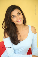 Anisha Ambrose Latest Pos Skirt at Fashion Designer Son of Ladies Tailor Movie Interview .COM 0939.JPG