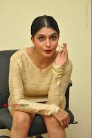 Actress Pooja Roshan Stills in Golden Short Dress at Box Movie Audio Launch  0084.JPG