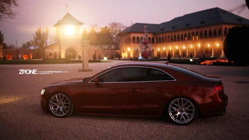 Audi A5 with ZP1 Hyper Silver wheels HD