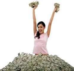 come diventare ricchi senza fare niente