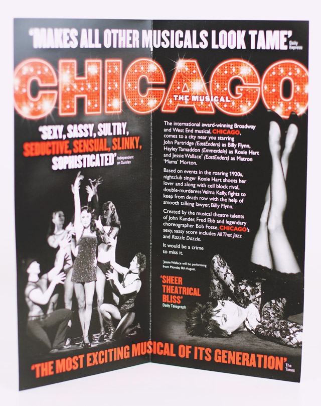 Chicago UK Tour Review