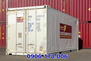 Dịch vụ bán container lạnh cũ