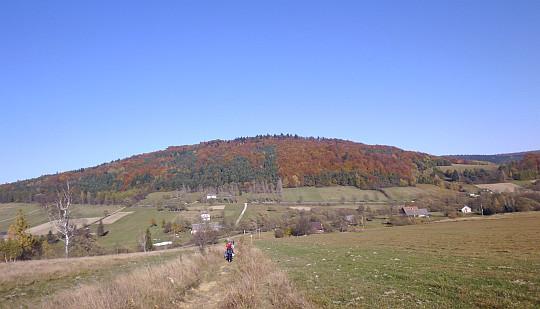 Popowe Wierchy (684 m n.p.m.).