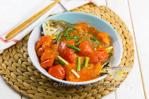是拉差茄汁金鯧魚 Golden Pomfret in Spicy Tomato Sauce03